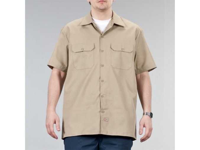 SHORT SLEEVE WORK SHIRT KH