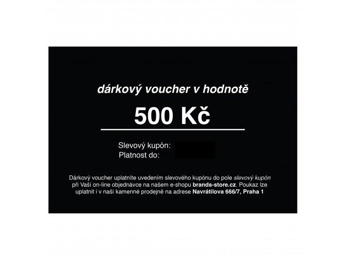VOUCHER 500 KČ