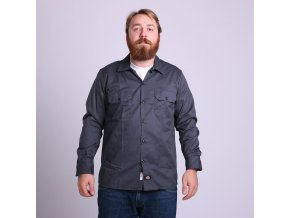 LONG SLEEVE SLIM WORK SHIRT CH