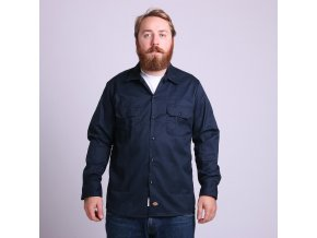 LONG SLEEVE SLIM WORK SHIRT DN