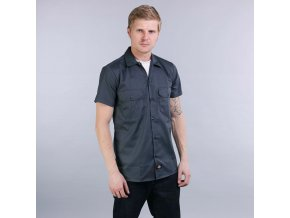 SHORT SLEEVE SLIM WORK SHIRT CH