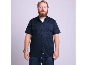 SHORT SLEEVE SLIM WORK SHIRT DN