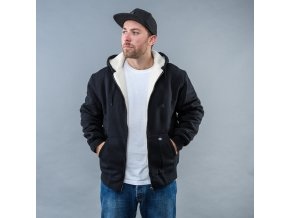 SHERPA LINED FLEECE BK