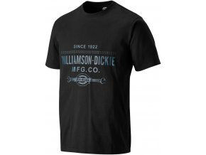 dickies t shirt castleton black sh5022 btl